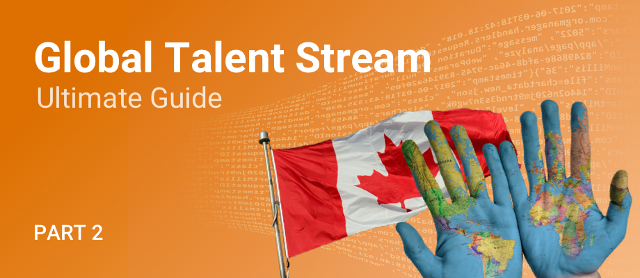 How to apply to the Global Talent Stream
